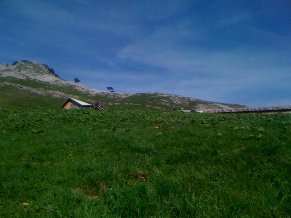 Encore quelques centaines de mètres avant le col.