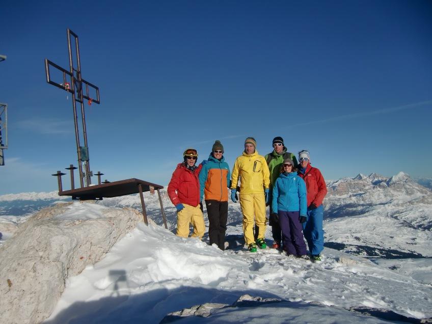 Piz Boé, summit !