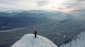 La vallée de l'Isère, pas mal.