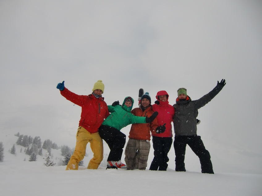 Bim Bim Team + Annecy Telemark Poney Crew