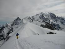 Sur fond de Mont Blanc