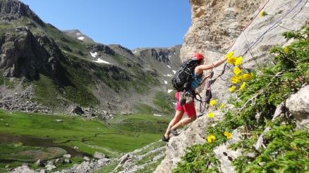 Ascension du Pavé du Chardonnet - Départ bucolique