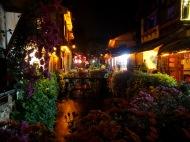 Lijiang, une ville...fleurie.