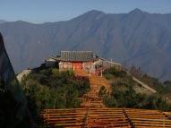 Temple inattendu pendant le trajet vers Lijiang