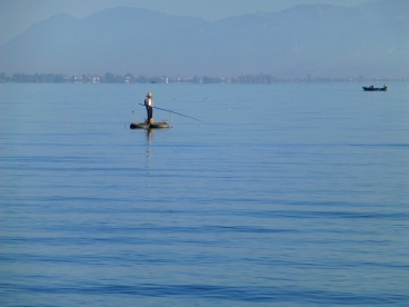 Première journée au bord du Lac Erhai.