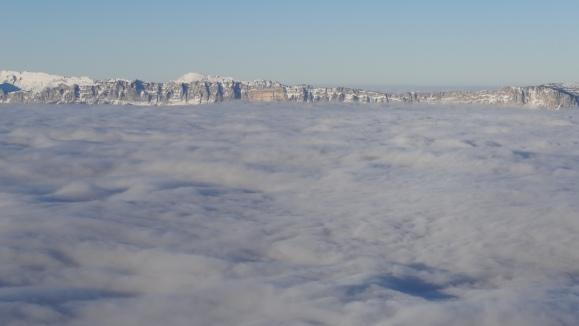 Océan de nuage.