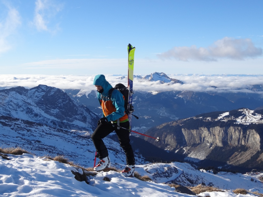 Pointe de Vorlaz, summit !