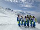 Bimbims sur fond de Mont Blanc