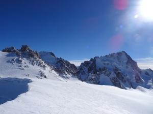 En haut du Col Blanc