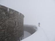 Fort de Ronce dans la brume
